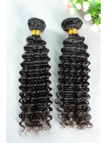 Natural Color Water Wave Peruvian Virgin Hair Weave 2pcs Bundle[WB224]