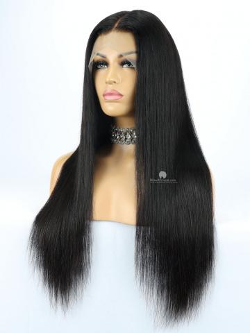 360 Lace Wig 180% Density Silky Straight Brazilian Virgin Hair [TLW01]