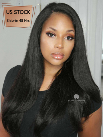 [American Stock]-Average Cap-180% Silky Straight Brazilian Virgin 360 Wig [TLW01US-Average]
