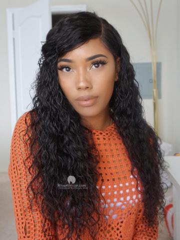 360 Frontal Wig Milan Curl 150% Density Virgin Brazilian Hair [TLW24]