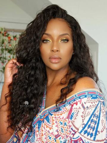 WowAfrican-Milan Curl 150% Density Virgin Brazilian Hair 360 Wig [Michelle002]