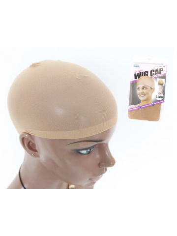 Natural Brown Wig Cap 1 pack (2 pcs per pack) [HA27]