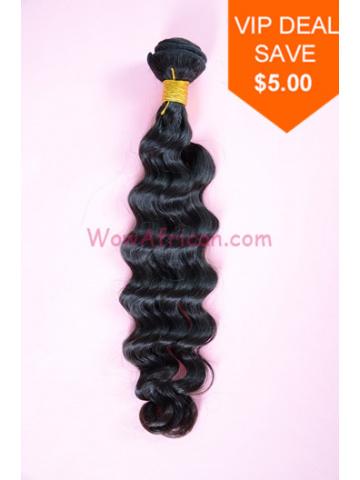 Natural Color Brazilian Wave Brazilian Virgin Hair Weave[WTB07]