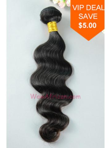 Natural Color Body Wave Peruvian Virgin Hair Weave [WTP03]