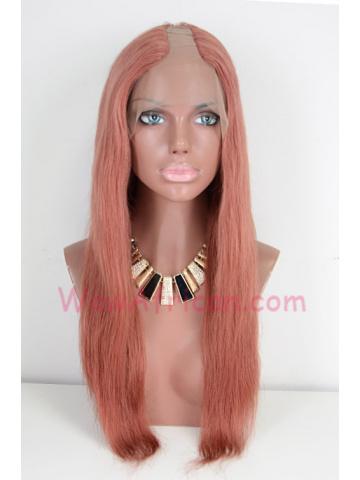 18in #32 Silky Stragiht Brazilian Virgin Left Part Wig[WCS23]