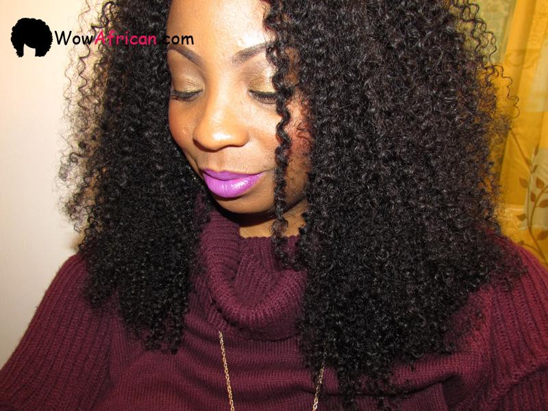Natural Color Peruvian Curl Brazilian Virgin Hair Weave 2pcs Bundle[WB21]