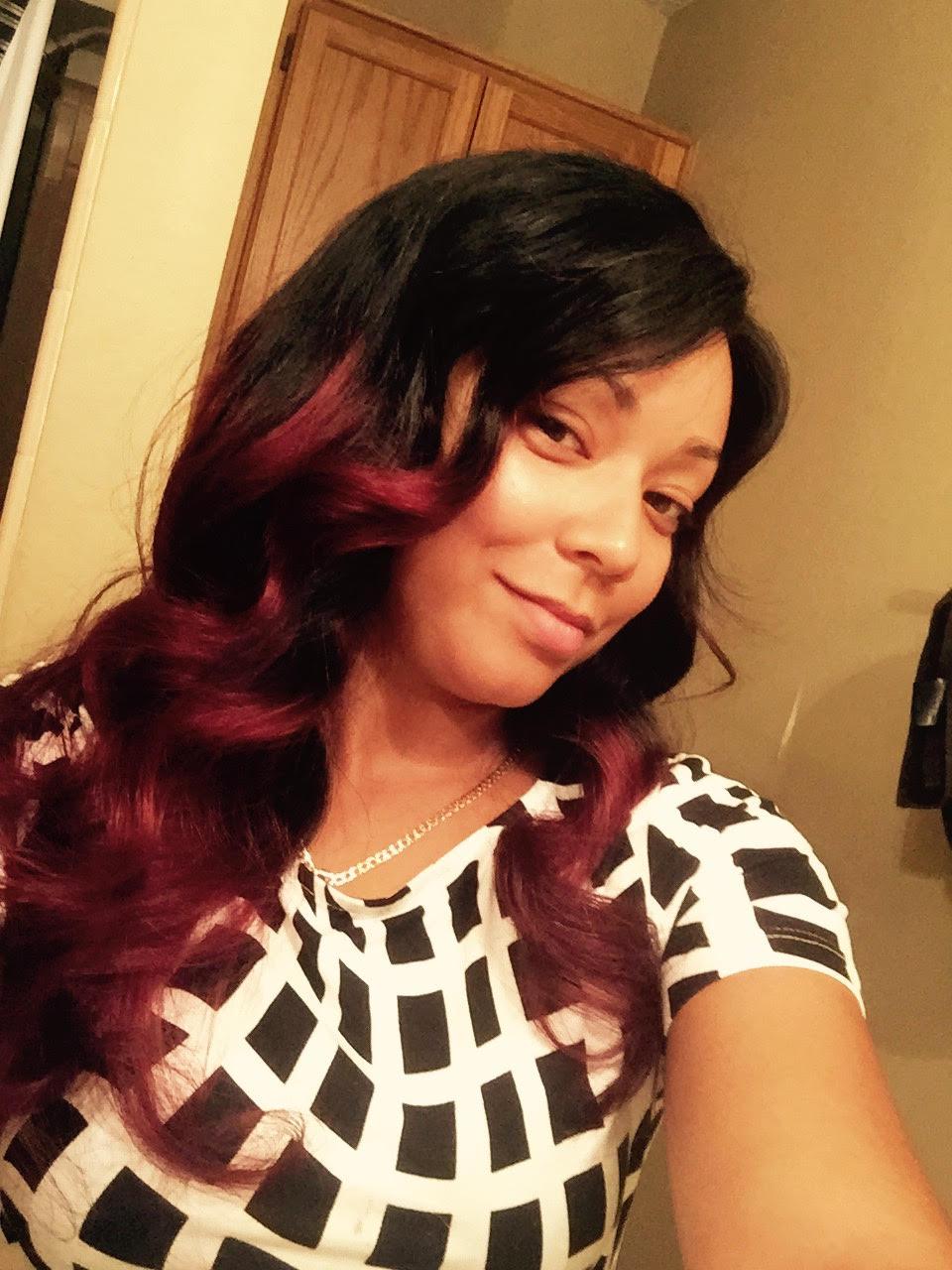 Ashanti ombre hair