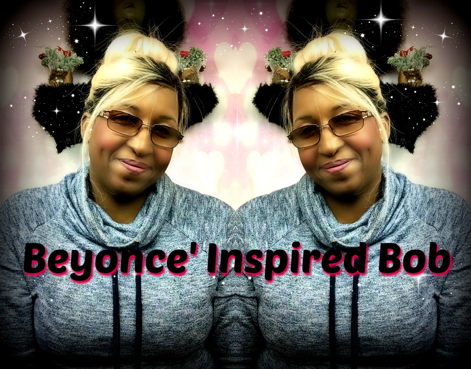 Beyonce Inspired Bob Brazilian Ombre Lace Wig