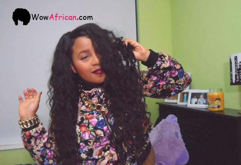 Virgin Brazilian Hair Weave Styles: Body Wave Brazilian Virgin Hair 3.5X4inches Middle Part