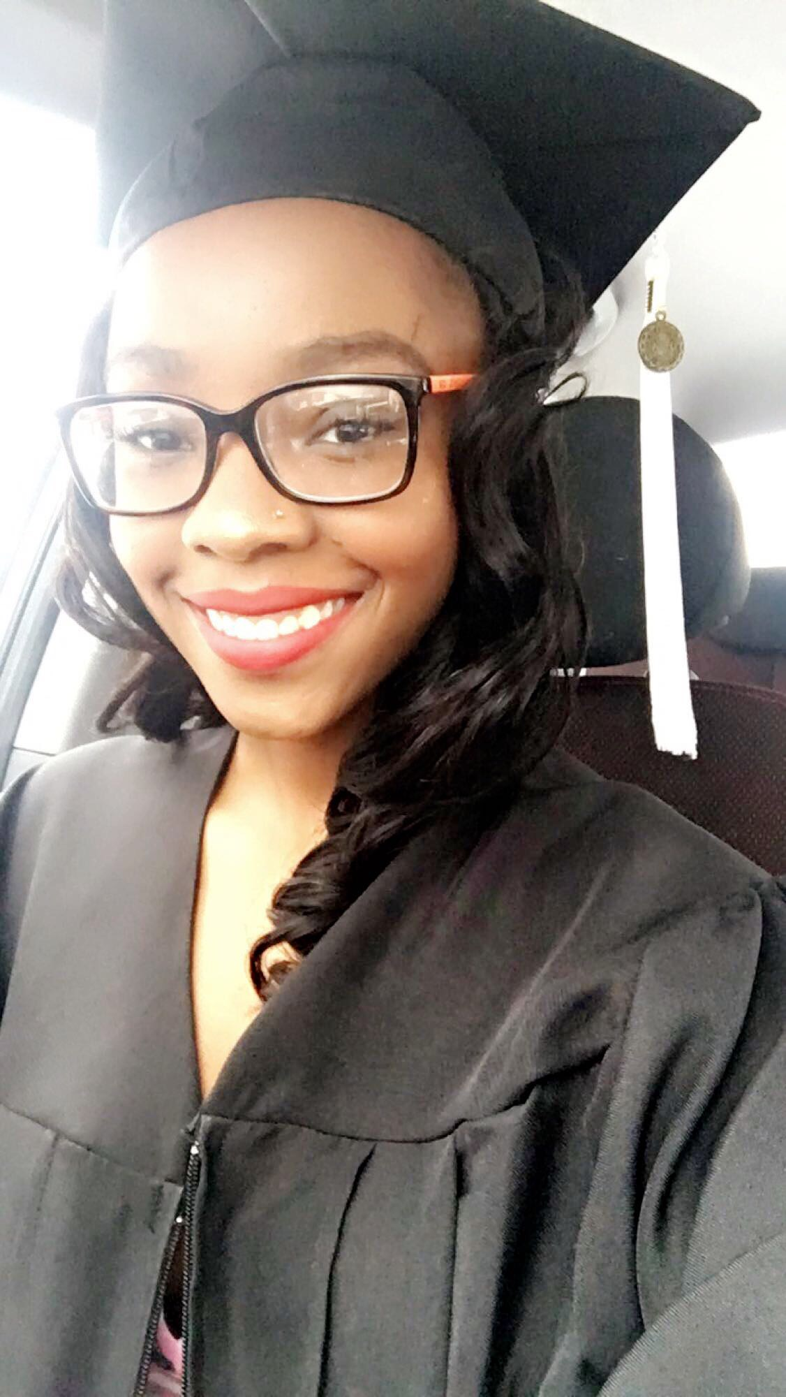 Wore it for graduation. Holds curls beautifully