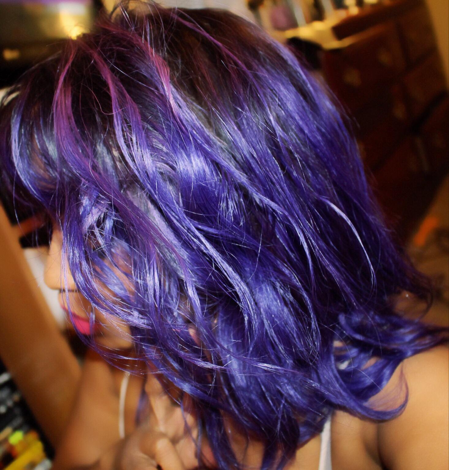 Dyed amazingly!!