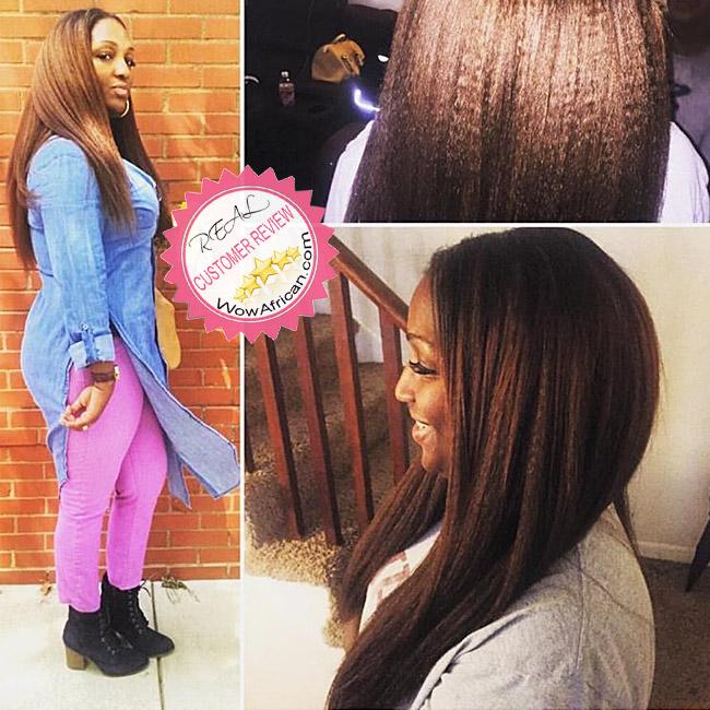 Colored 1 1b 2 3 4 5 Italian Yaki Virgin Brazilian Hair