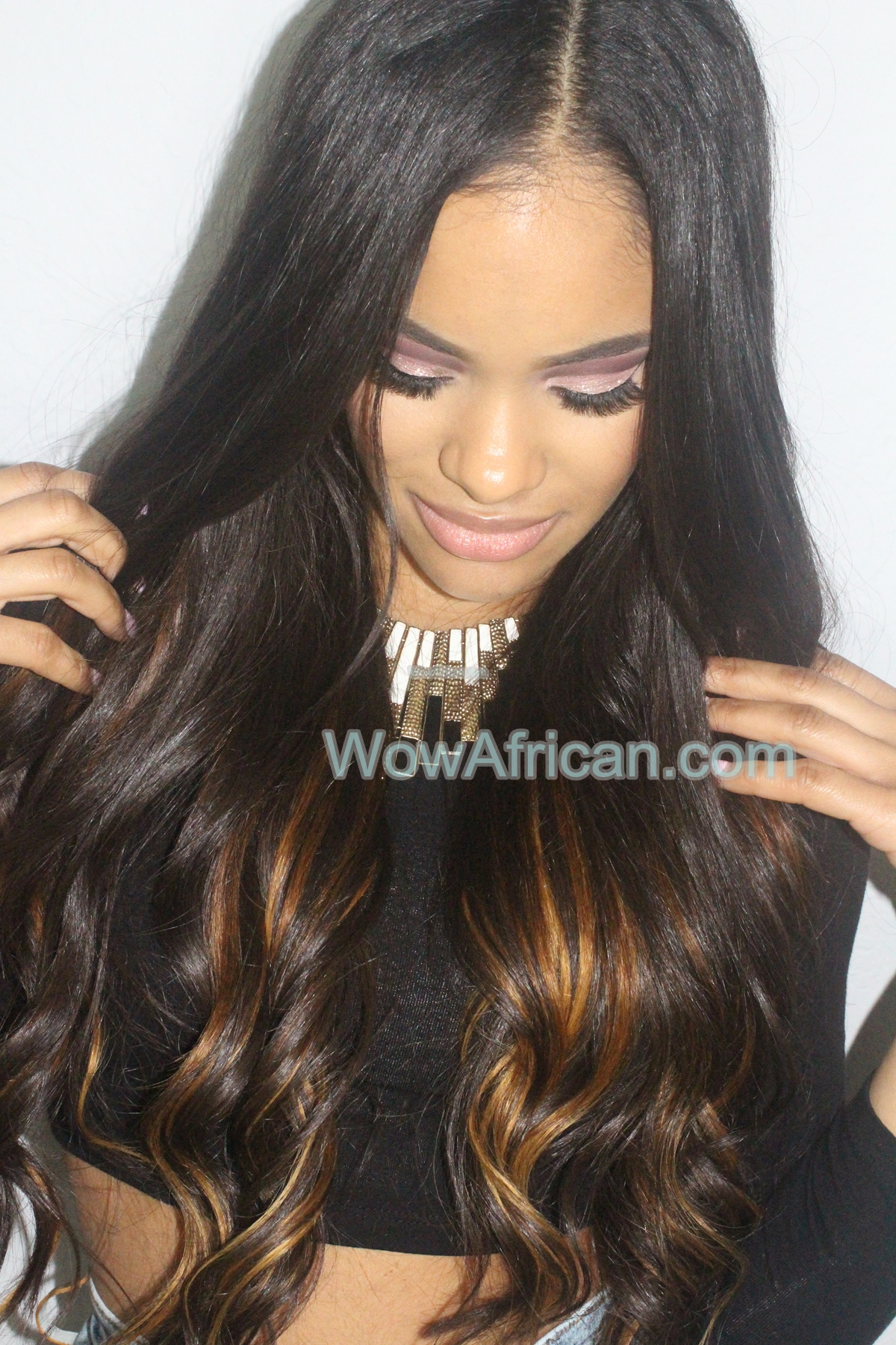 Natural color 8pcs silky straight brazilian virgin hair clip in customer photos pmusecretfo Images