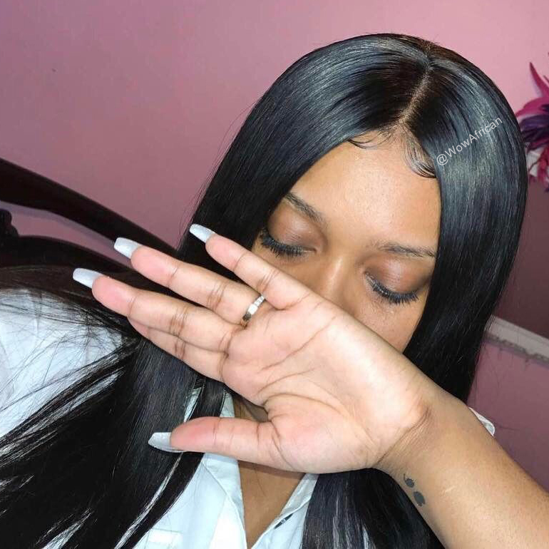 how to make the hair straight and silky naturally