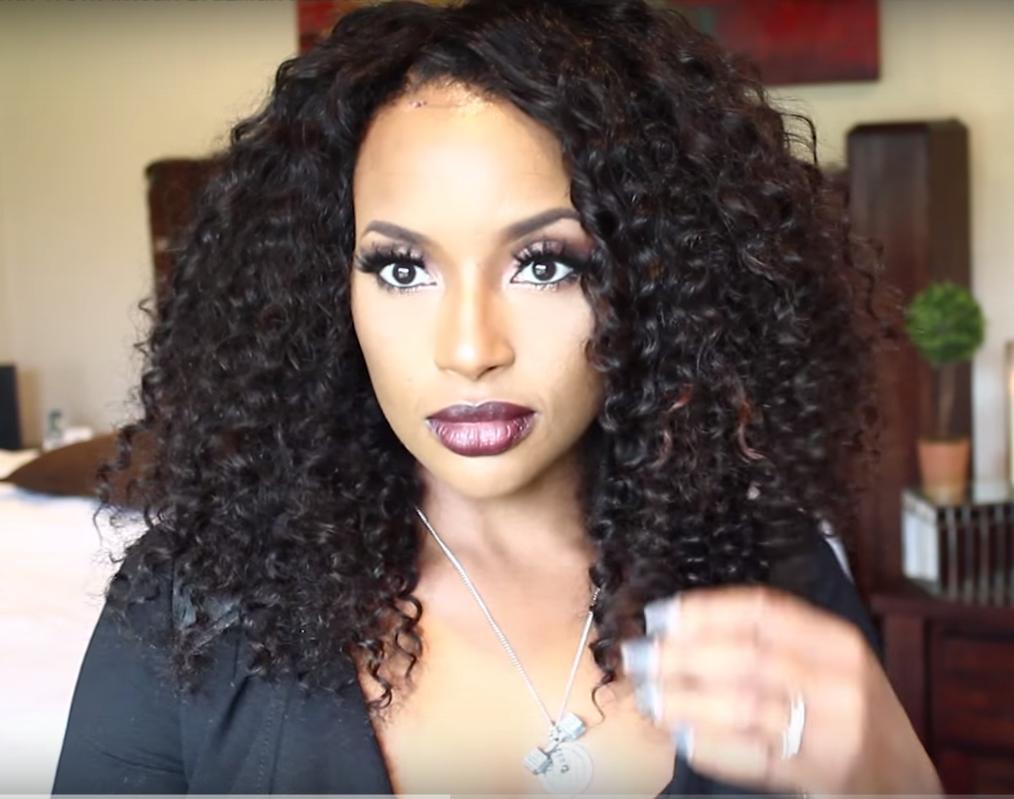 Virgin Brazilian Hair Funmi Hair Weave Afro Curl 3pcs Bundles With A Lace Closurefm05 3c