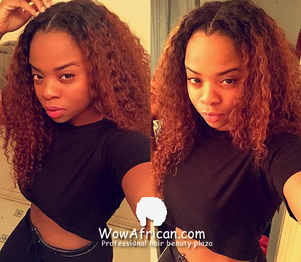 Remarkable Virgin Brazilian Hair Funmi Hair Weave Romance Curl 3Pcs Bundles Short Hairstyles For Black Women Fulllsitofus