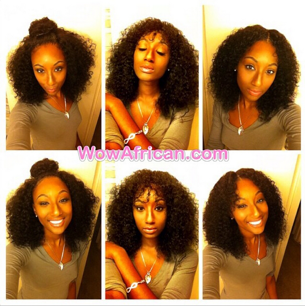 Brazilian Virgin Hair 4x4inches No Part 10 with 14 16