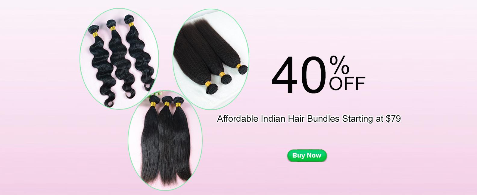 Indian hair bundles sale