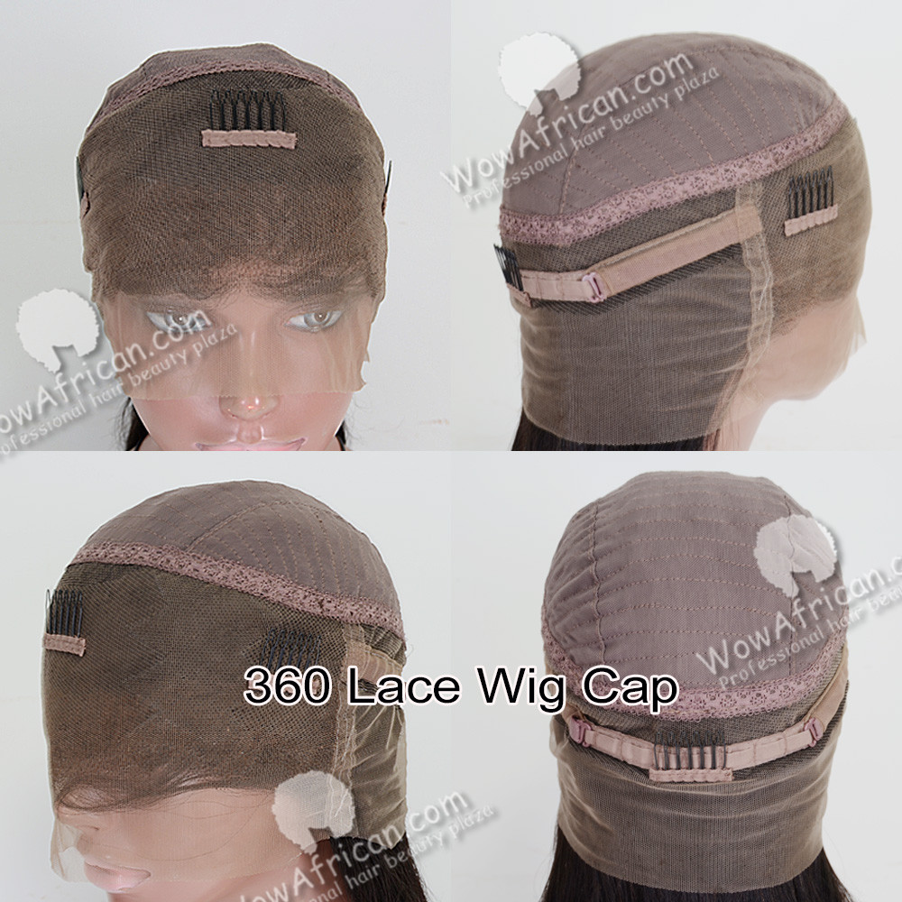 360 lace frontal wig cap
