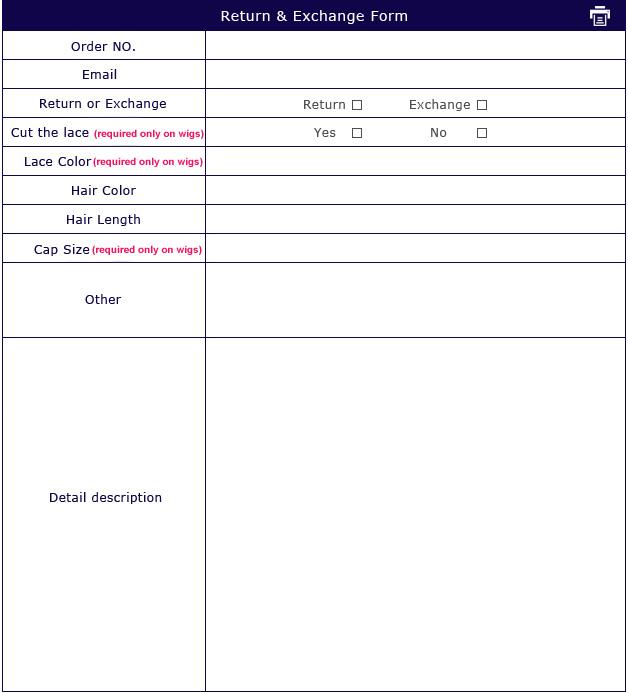 wowafrican.com exchange and return order form.
