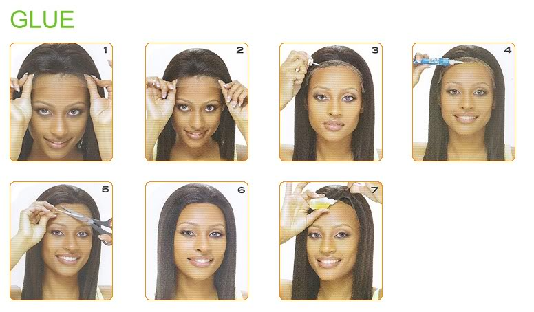WowAfrican how to wear lace wig