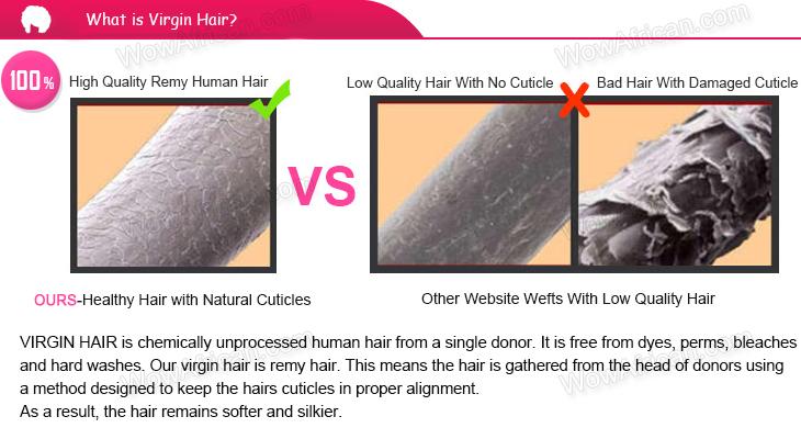 Natural Color Italian Yaki Brazilian Virgin Hair Weave 3pcs Bundle[WB226]-wowafrican.com