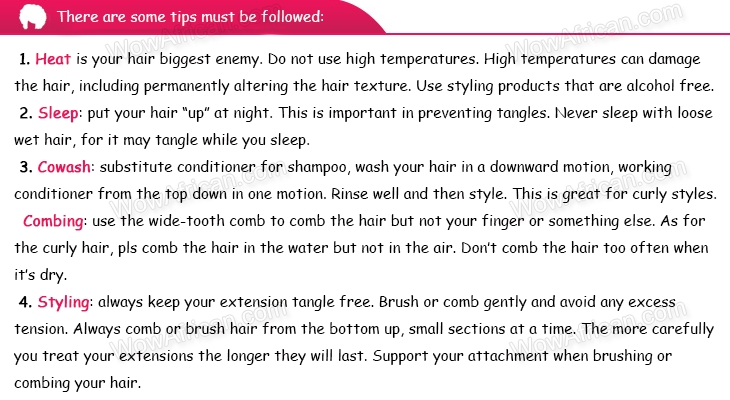 Special hair care tips