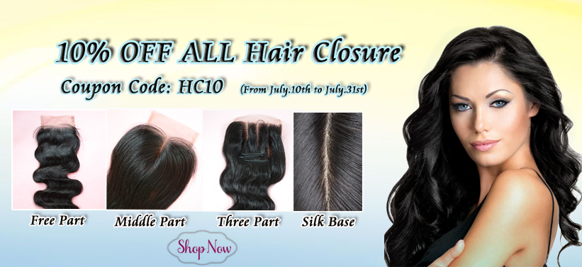 WowAfrican $10 off for all hair closures