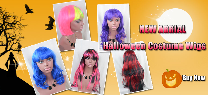 Halloween Costume lace wigs