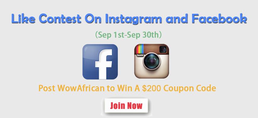 WowAfrican Like Contest